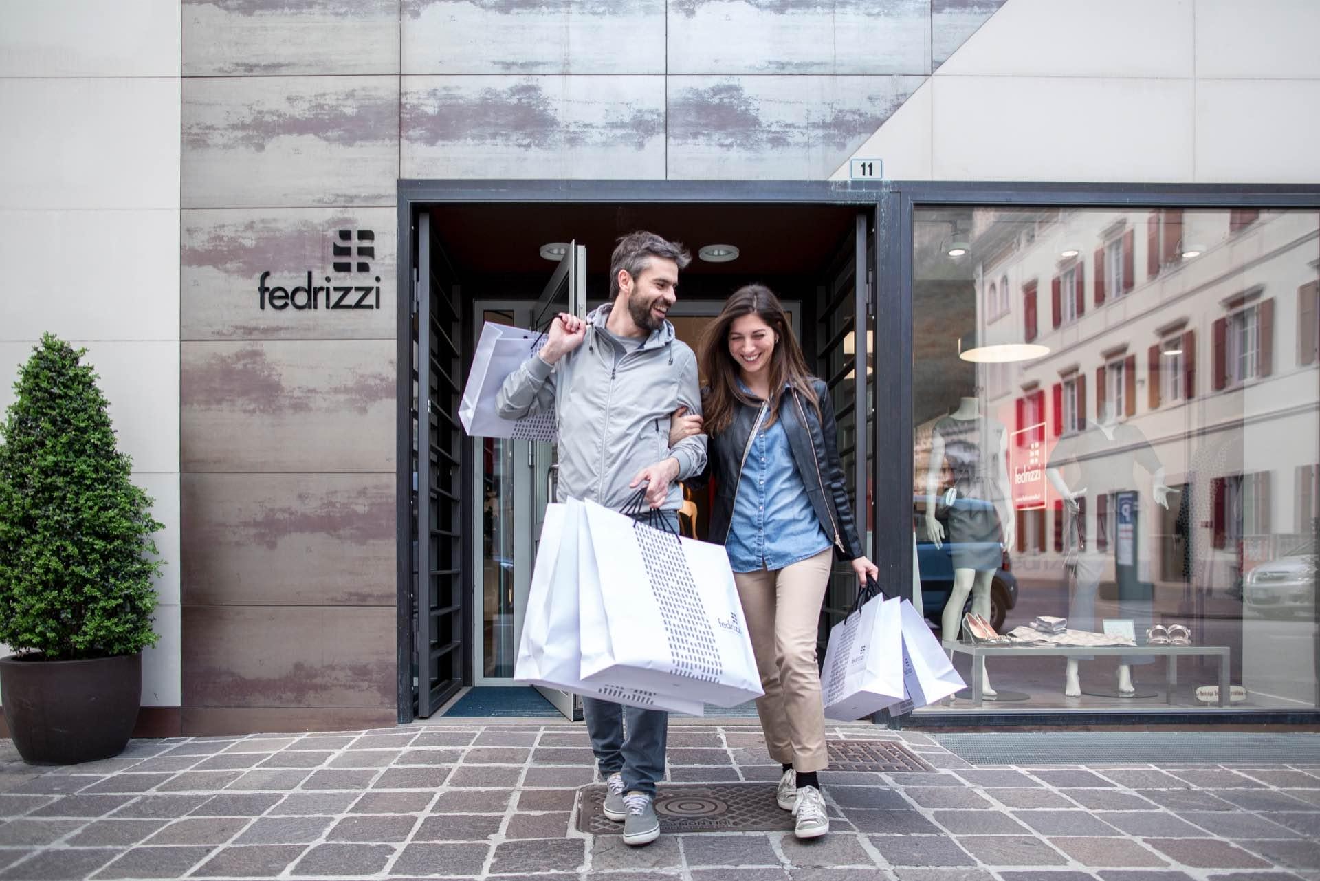 Negozi trento fedrizzi moda abbigliamento scarpe accessori for Orari apertura negozi trento