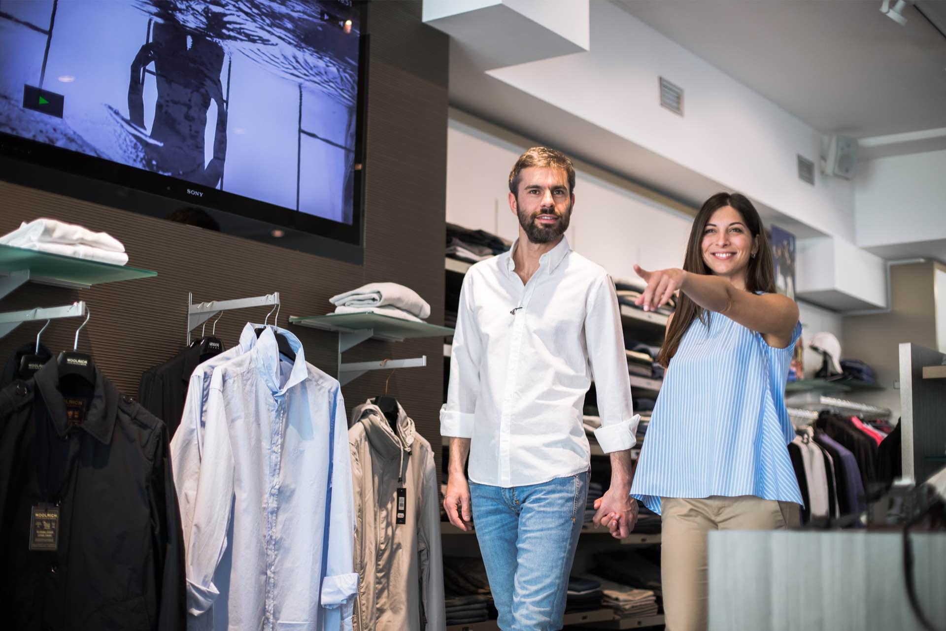 Negozio abbigliamento uomo a Trento